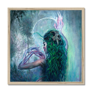 Shaman Bones | Green Abstract Art | Mgallery, Buy Modern Green Abstract Art! Add a beautiful style to your home with our Beautiful Acrylic Abstract Art, all at best prices and worldwide shipping!.-mgallery
