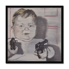 Load image into Gallery viewer, 'Child -14' by Vincenzo Sgaramella Framed Print