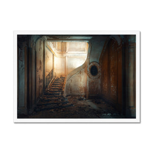 'Central' by Theresa Niemann Framed Print