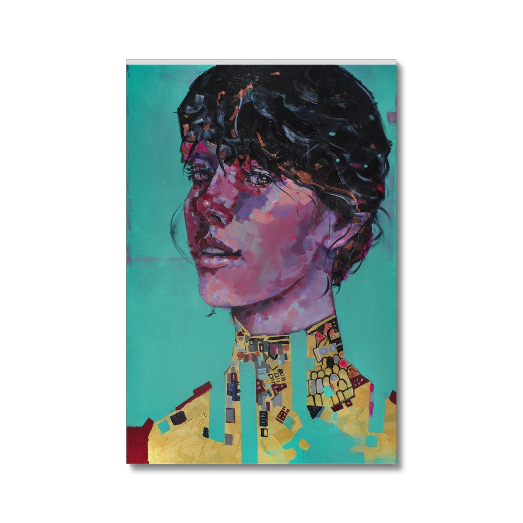 Lady 26 Portrait | Woman Portrait Canvas Prints | MGallery, Shop Abstract Woman Portrait Canvas Prints and discover High Quality Portrait Wall Art Prints for bedroom, living room or office room.-Fine art-mgallery
