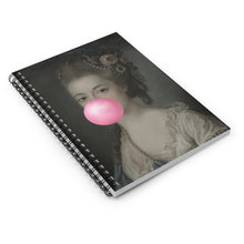 Load image into Gallery viewer, Bubblegum Portrait -5 by Young & Battaglia Spiral Notebook - Ruled Line