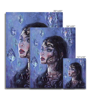 Phantom Rain | Unique Portrait Paintings, Find our Unique Portrait Paintings at MGallery store. All Colourful Canvas Art Prints are professionally printed with high quality paper materials.-mgallery