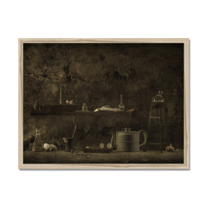 The Chthonian Kitchen | Brown Bedroom Wall Art | MGallery, Choose your Brown Bedroom Wall Art from category Bedroom Wall Art Prints at MGallery. Express Delivery, museum-quality paper, Delivered ready to hang.-mgallery