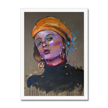 Load image into Gallery viewer, 'Lady 19 Portrait | Framed Wall Arts | MGallery, Our Collection of Framed Wall Arts are available in a variety of sizes and 3 types of frame selections to suit your home. Fast and worldwide shipping available!-Fine art-mgallery