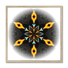 Load image into Gallery viewer, 'Light Mandala 2' by Michael Banks Framed Print