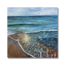Load image into Gallery viewer, Emerald Bay | Best Beach Canvas Art | MGallery, Style your spaces with Best Beach Canvas Art Prints. Discover your beautiful Canvas Prints wall art from MGallery. Get Inspired With Amazing UK Art! -mgallery