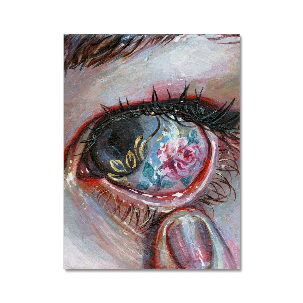 Beauty In The Eye | Colourful Canvas Art | MGallery , Shop Colourful Canvas Art prints at MGallery! Decorate your walls with High Quality Colour Art design wall decor prints. Fast Worldwide Delivery Available! -mgallery