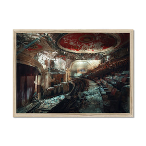 'The Rapture' by Theresa Niemann Framed Print