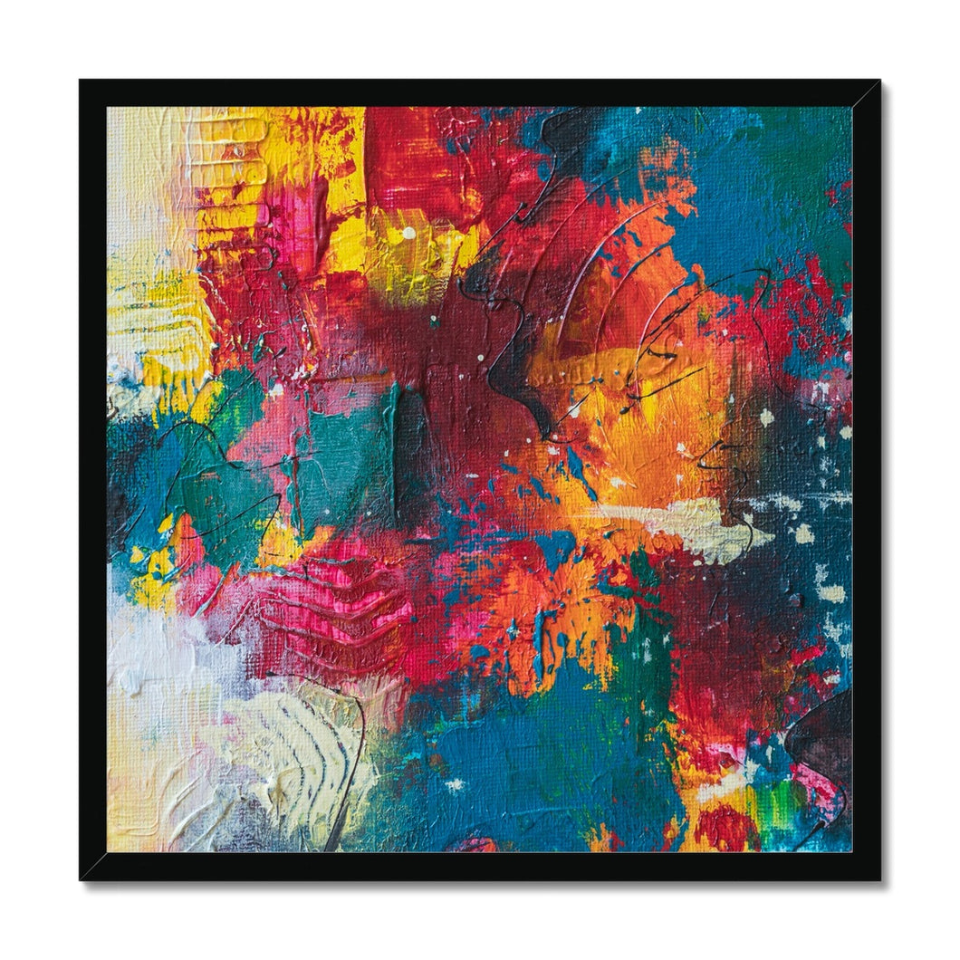 'Purity with Muse' by Kawsar Ahmed Framed Print