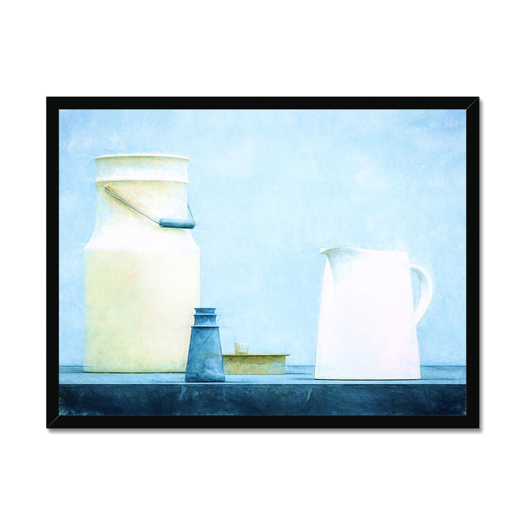 Milk Blue | Simple Still Life Print Arts for Sale | MGallery, Simple Still Life Print Arts for Sale! Add a beautiful style to your home with our Beautiful Simple Still Life Art Prints, all at best prices and worldwide shipping!-mgallery