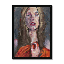 Load image into Gallery viewer, Lady 13 Portrait | Framed Wall Art for Living Room | MGallery, Our Collection of Framed Art prints are available in a variety of sizes and frame selections to suit your living room.-Fine art-mgallery