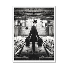 Load image into Gallery viewer, Luggage | Black and White Urban Art Print | MGallery, Buy Beautiful Black and White Urban Art Print! Add a unique style to your home with our Modern Digital Framed Arts UK, all at best prices and worldwide shipping available!.-mgallery