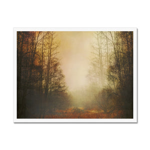 'Fall Meadow' by Dirk Wüstenhagen Framed Print