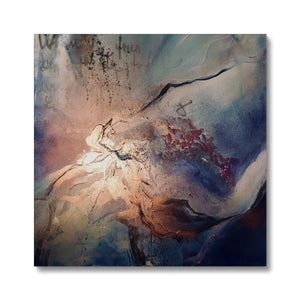 'Burning Moon' Canvas by Andrea Ehret