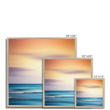 Load image into Gallery viewer, 'Sunset Shimmer' by Dirk Wüstenhagen Framed Print
