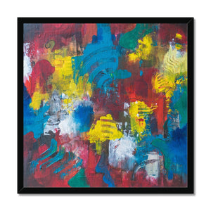'Unfolding Passion' by Kawsar Ahmed Framed Print