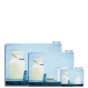 Milk Blue | Realistic Still Life Digital Prints | MGallery, Shop Realistic Still Life Digital Prints! Add a beautiful style to your home with our Modern Still Life Art Decor, all at best prices and worldwide shipping!-mgallery