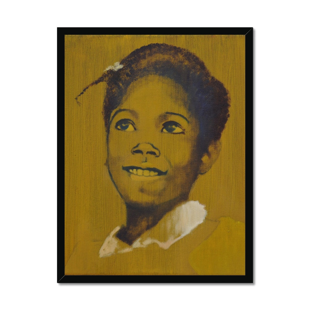 'Child - 9' by Vincenzo Sgaramella Framed Print