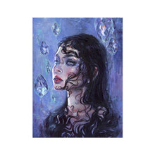 Load image into Gallery viewer, Phantom Rain | Acrylic Painting Portrait, Find your Best Acrylic Painting Portrait for Living room at MGallery. All Acrylic Portrait Fine Art Prints UK are professionally printed with high quality paper materials.-mgallery