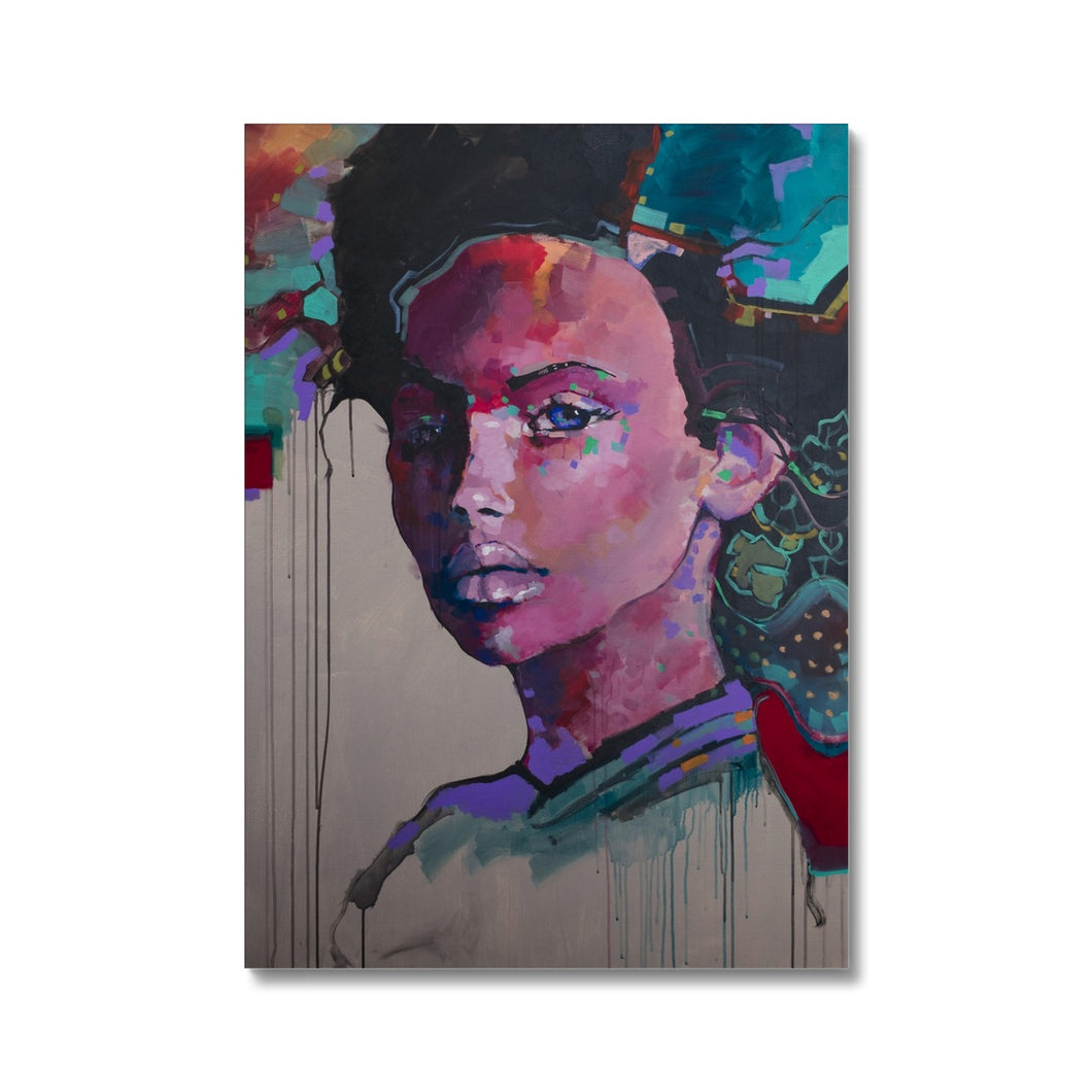 Lady 30 Portrait | Wall Art Prints for Sale | MGallery, Buy your art print from our collection of Colourful art prints. This Giclee fine art print is available to buy online at MGallery store. -Fine art-mgallery