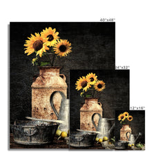 Load image into Gallery viewer, Sunflower Still Life | Contemporary Flower Wall Arts | MGallery, Find your Best Contemporary Flower Wall Arts for Sale at MGallery. All Digital Flower Art Prints UK are professionally printed with high quality paper materials.-mgallery