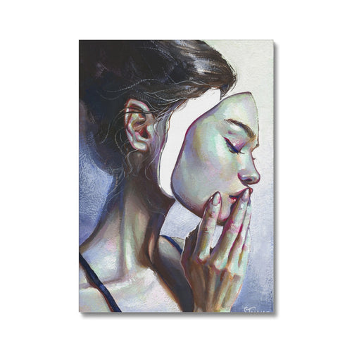 A Case of Identity | Portrait Painting Woman | MGallery , Decorate your home with a high-quality Portrait Painting Woman. Beautiful, Best Canvas Portrait Prints UK available in different sizes with quality materials.-mgallery