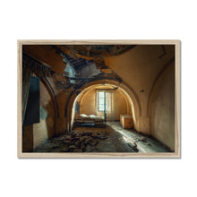 Load image into Gallery viewer, 'Little Nightmares VII' by Theresa Niemann Framed Print