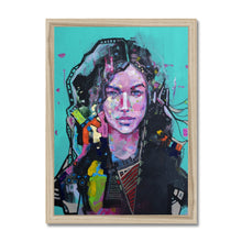 Load image into Gallery viewer, Female Art Portrait | Framed Art Print London| MGallery, Design your bedroom with female portrait canvas art prints London...with fast shipping and the best deals for every budget.-Fine art-mgallery