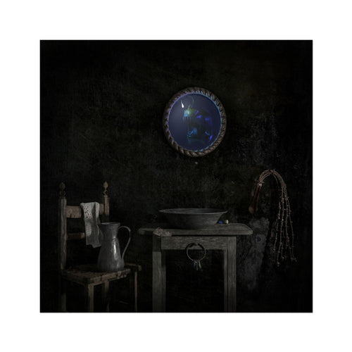 Temet Nosce | Best Dark Still Life Art Prints | MGallery, Bring a unique style for your home with Best Dark Still Life Art Prints with variety of sizes! Shop our unique collection of Beautiful Digital Wall Arts.-mgallery