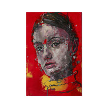 Load image into Gallery viewer, Lady 3 Portrait | Contemporary Art Portrait Prints | MGallery, Decorate your walls with Mineheart Contemporary Art Portrait Prints, Thrill your walls now with unique portrait art print. Shop the full range at MGallery!-Fine art-mgallery