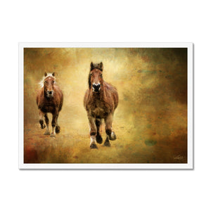'Home Coming' by Cathy Labudak Framed Print