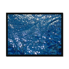 Load image into Gallery viewer, 'Silk water 2' by Michael Banks Framed Print