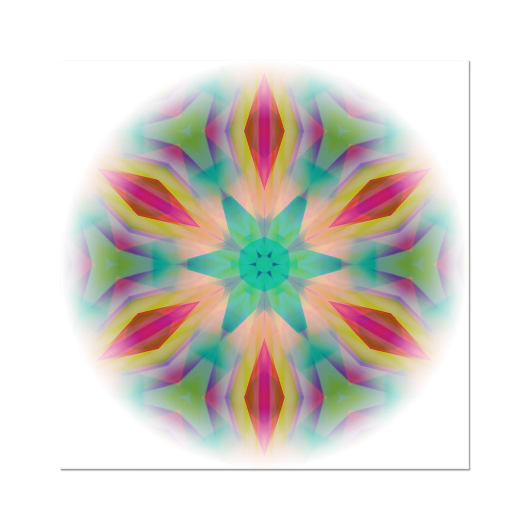 'Light Mandala 1' by Michael Banks Fine Art Print