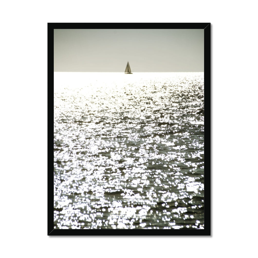 'Sail Dream 5' by Michael Banks Framed Print