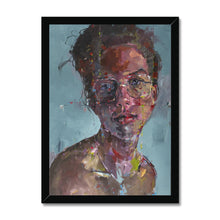 Load image into Gallery viewer, Lady 15 Portrait | Framed Wall Art | MGallery, Portrait Framed Artwork with a unique style! MGallery offers modern wall art prints with high-quality wood frames. Shop Now!-Fine art-mgallery