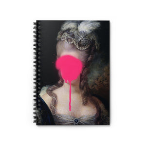'Madame Blush' by Young & Battaglia Spiral Notebook - Ruled Line