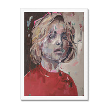 Load image into Gallery viewer, Lady 27 Portrait | Framed Print for Sale Online | MGallery, Framed Print for Sale Online! Find your wall art from our framed art collection to decorate your home... Express delivery for worldwide!-Fine art-mgallery