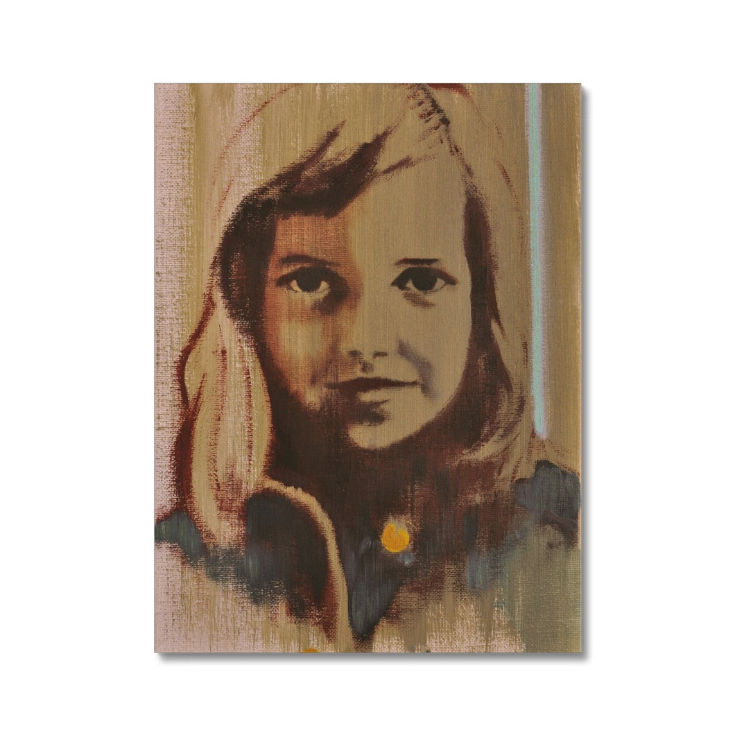 'Child -18' by Vincenzo Sgaramella Canvas