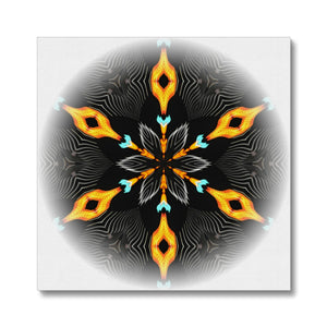 'Light Mandala 2' by Michael Banks Canvas
