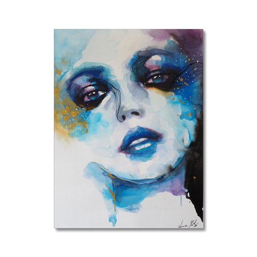 Blue Abyss | Acrylic Wall Art UK | MGallery, Buy Acrylic Wall Art UK now! You can choose unique Acrylic Abstract Portraits with various sizes from MGallery to design your gallery wall.-mgallery