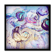 Load image into Gallery viewer, 'Violet Flowers' by Andrea Ehret Framed Print
