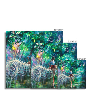 Dopamine Jungle | Beautiful Nature Art | Mgallery, Buy Beautiful Nature Art now! You can choose unique Abstract Nature Art with various sizes from MGallery to design your gallery wall.-mgallery