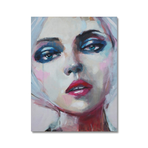 Saoirse | Abstract Pop Art Portraits | MGallery, MGallery is the best way to find the Abstract Pop Art Portraits for decorating your bedroom. We have a beautiful collection of Bedroom Abstract Pop Art Canvas Wall Art, Buy now!-mgallery
