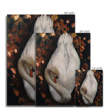 Load image into Gallery viewer, Sleeping Swan | Buy Modern Art Oil Painting | MGallery, Buy Modern Art Oil Painting on Canvas! Add a beautiful style to your home with our fabulous Oil Abstract Art, all at best prices and worldwide shipping!.-mgallery
