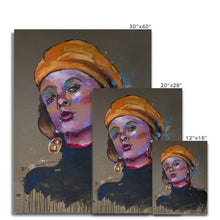 Load image into Gallery viewer, Lady 19 Portrait | Canvas Wall Art Online| MGallery, Buy Canvas Wall Art online! Add a beautiful style to your home with our fabulous canvas art prints, all at best prices and worldwide shipping!.-Fine art-mgallery