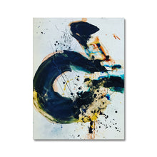 Load image into Gallery viewer, 'Indigo Calligraphy' by Andrea Ehret Canvas