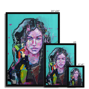 Female Art Portrait | Framed Art Print London| MGallery, Design your bedroom with female portrait canvas art prints London...with fast shipping and the best deals for every budget.-Fine art-mgallery