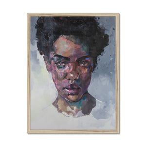 Lady 5 Portrait | Contemporary Art Framed Prints | MGallery, Lady 5 Portrait' by Roman Gulman available to buy online from MGallery. You can choose the Contemporary Art Framed Prints from variety of sizes.-Fine art-mgallery