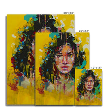 Load image into Gallery viewer, Lady 1 Portrait | Stretched Canvas Print near me | MGallery, Design your everyday with Mgallery Canvas art prints you'll love. Cover your walls with Stretched Canvas Prints without Frames. Available Worldwide shipping!-Fine art-mgallery