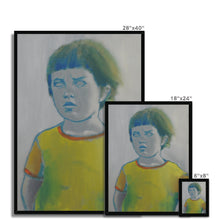 Load image into Gallery viewer, 'Child -16' by Vincenzo Sgaramella Framed Print